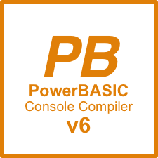 Picture of PowerBASIC Console Compiler v6.03
