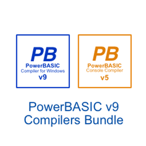Picture of PowerBASIC for Windows v9.04  •  PowerBASIC Console Compiler 5.04 Bundle