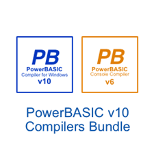 Picture of PowerBASIC for Windows v10.03  •  PowerBASIC Console Compiler v6.03 Bundle